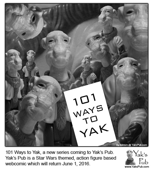 101 Ways to Yak Promo