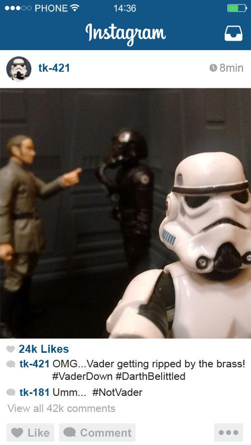 421 Vader Ripped Selfie